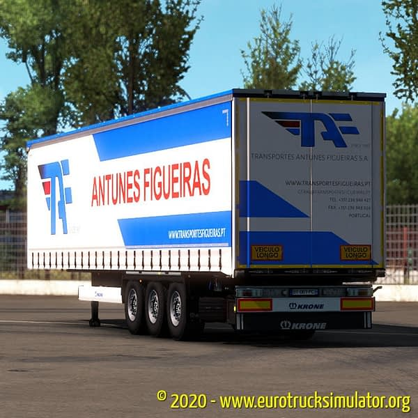 ETS2 Krone Profiliner Antunes Figueiras 1