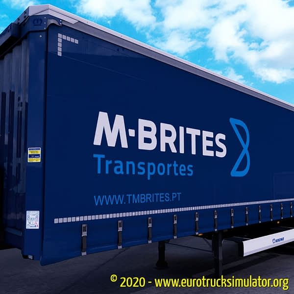 ETS2 Krone Profiliner Machado e Brites 3