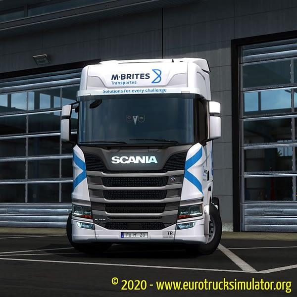 ETS2 Scania R Machado e Brites 3