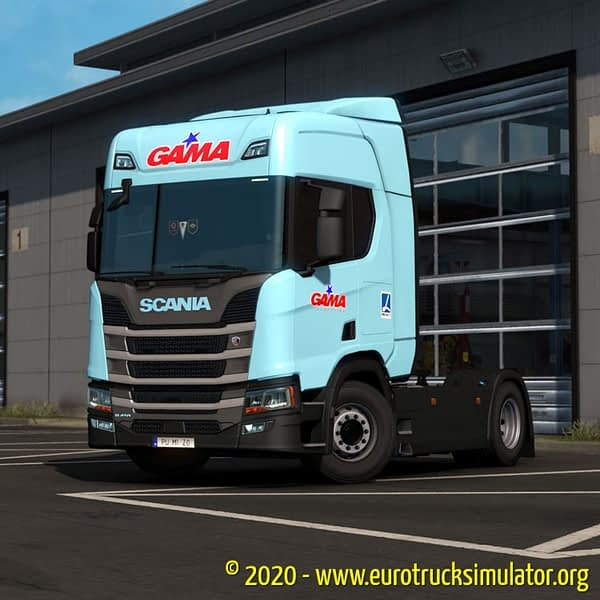 ETS2 Scania S TransGama 1
