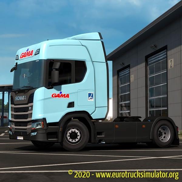 ETS2 Scania S TransGama 2