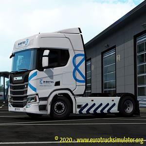 ETS2 Scania R Machado e Brites 2