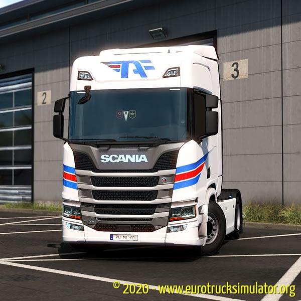 ETS2 Scania R Antunes Figueiras 3