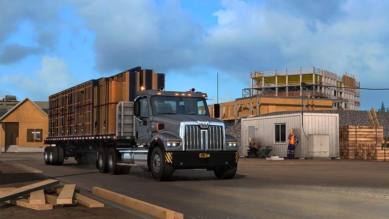 western star 49x american truck simulator 11
