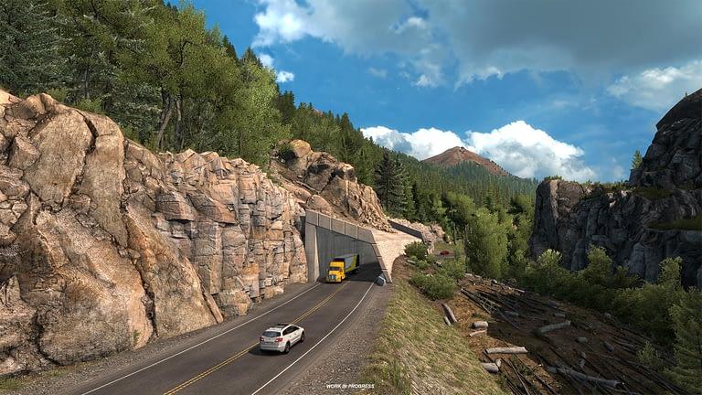 million dollar highway american truck simulator 6