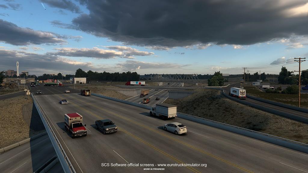 american truck simulator wyoming dlc 16