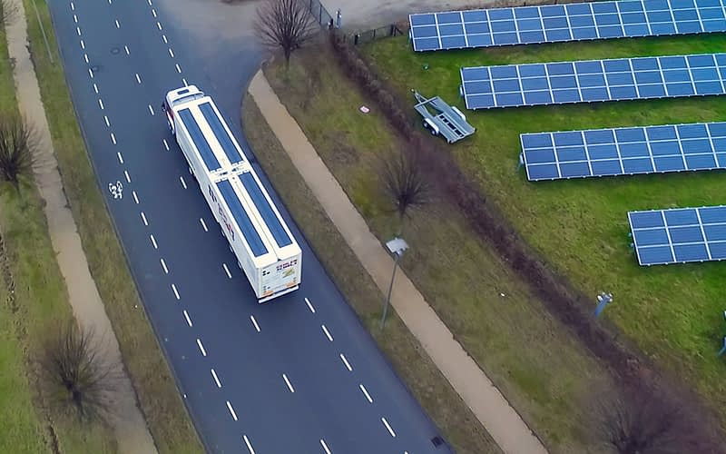 Does the future rely on Solar Trailers?