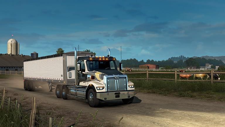 western star 49x american truck simulator 14