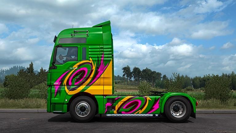 ets2 super stripes paint jobs pack 14