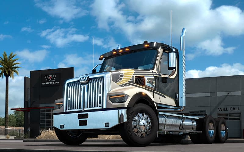 The Western Star 49X is now available for ATS!