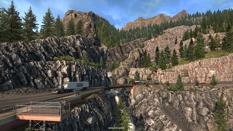 million dollar highway american truck simulator 11