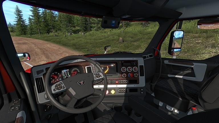 western star 49x american truck simulator 10