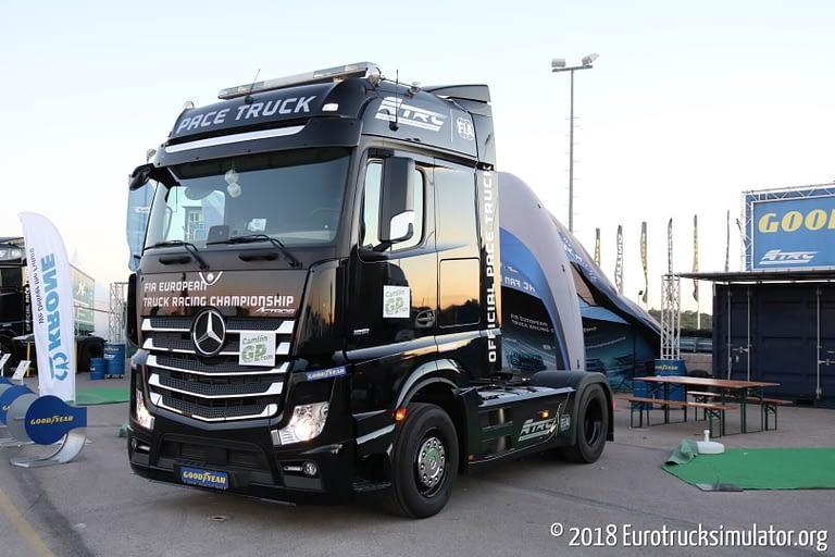 fia etrc jarama 2018 mercedes actros pace truck 2