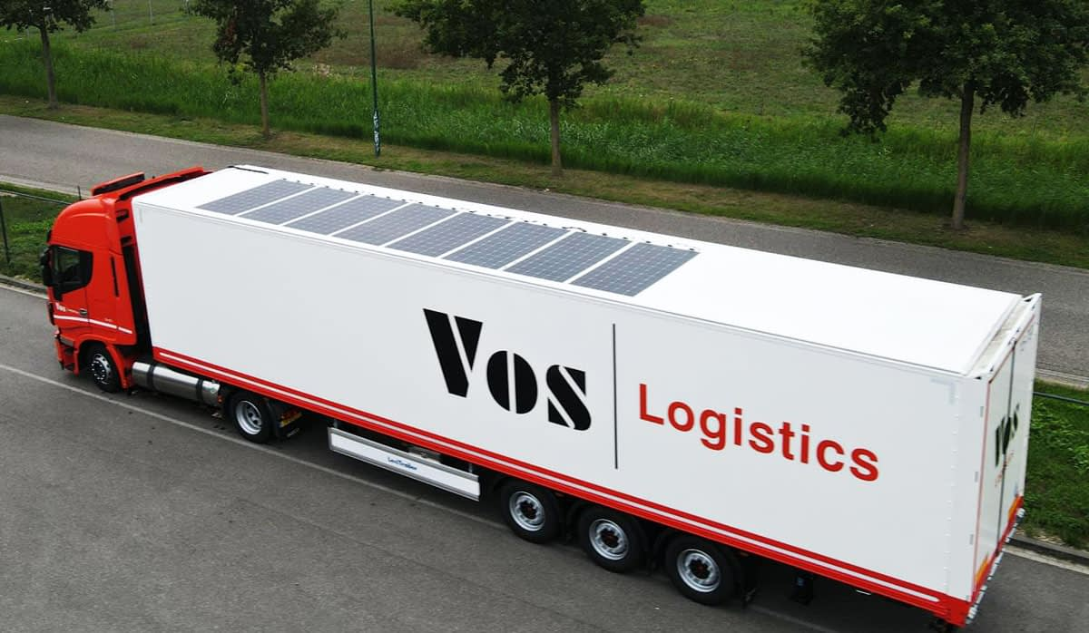 vos logistics im efficiency solar on top