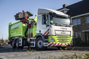 First DAF CF Electric refuse collection truck delivered to ROVA 02