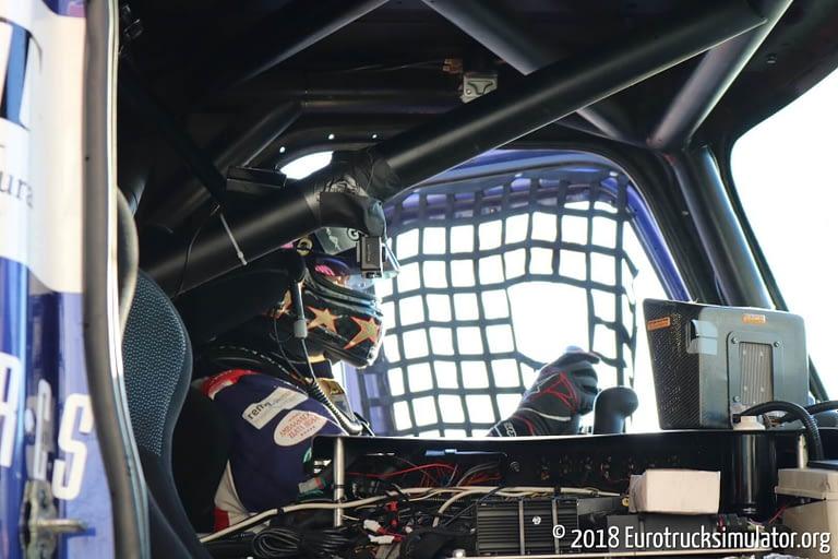 fia etrc jarama 2018 pit lane buggyra adam lacko freightliner 2