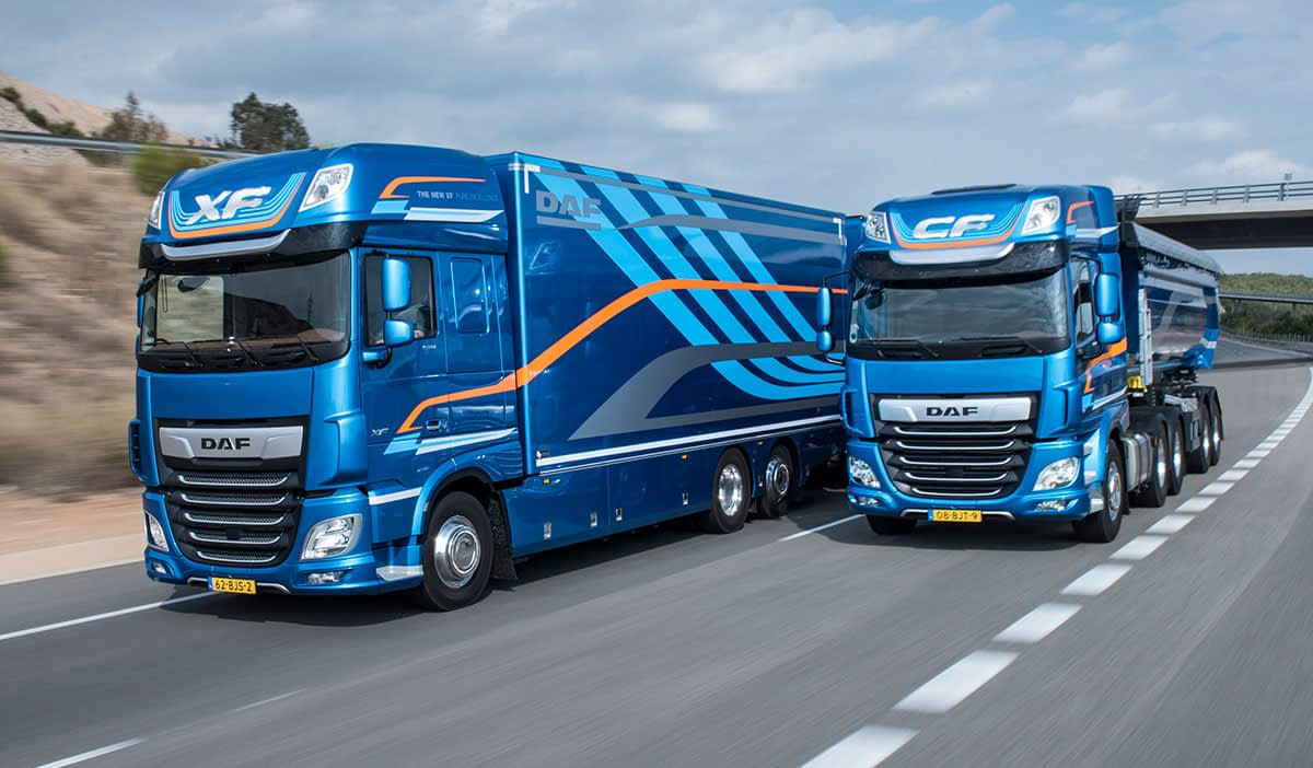 21 DAF XF and CF International Truck of the Year 2018