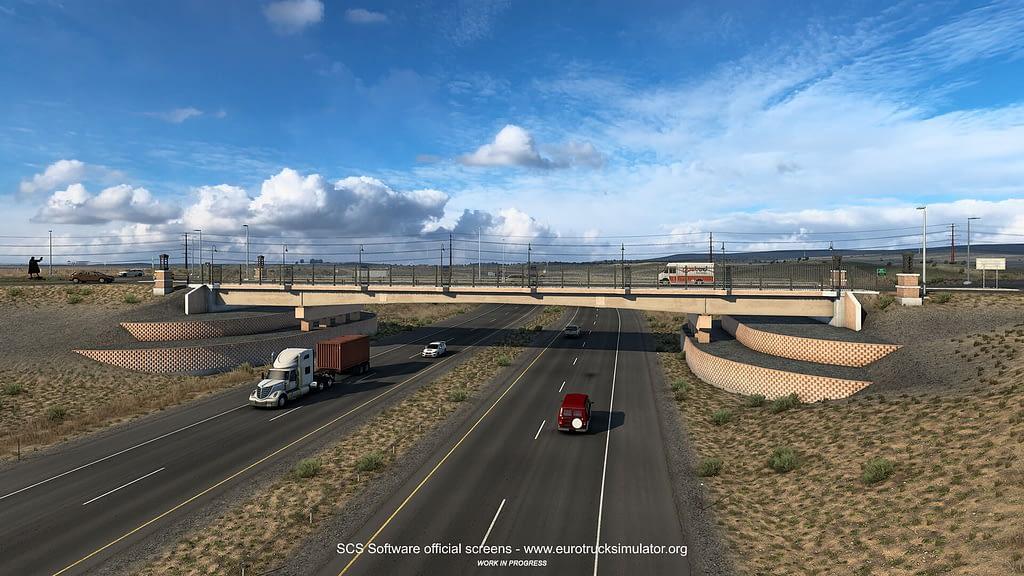 american truck simulator wyoming dlc 2