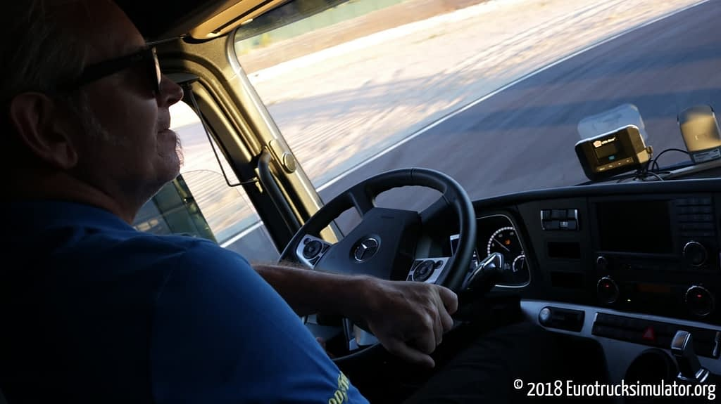 Warming up the Pace Truck with Pace Pete