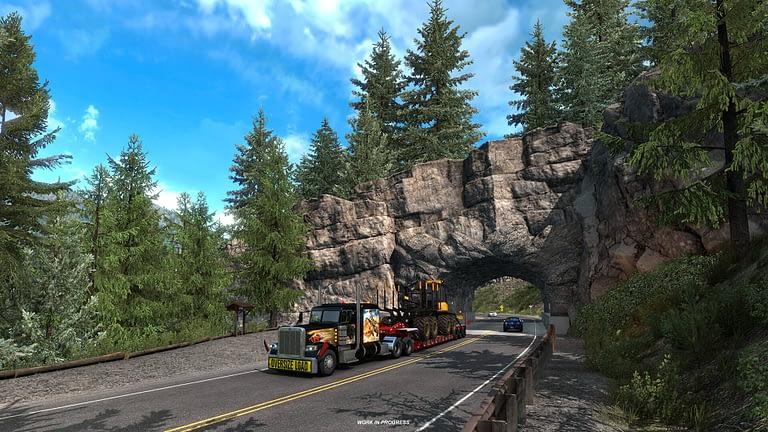 million dollar highway american truck simulator 10