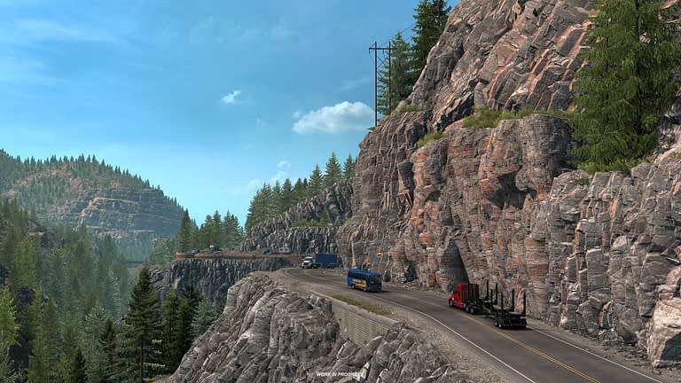 million dollar highway american truck simulator 9