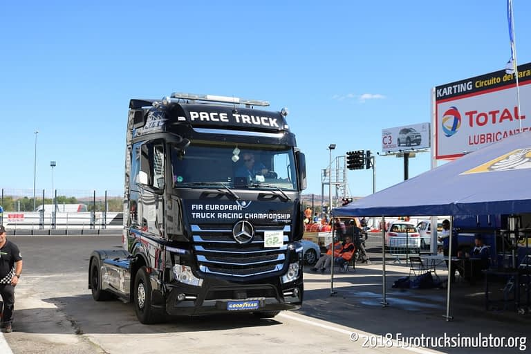 fia etrc jarama 2018 mercedes actros pace truck 5