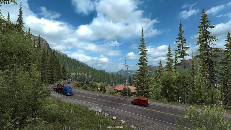 million dollar highway american truck simulator 7