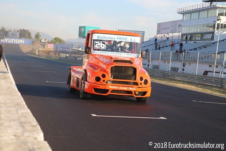 fia etrc jarama 2018 races pedro garcia murcia racing team iveco powerstar