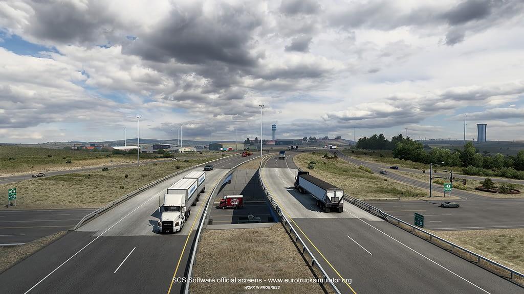 american truck simulator wyoming dlc 4