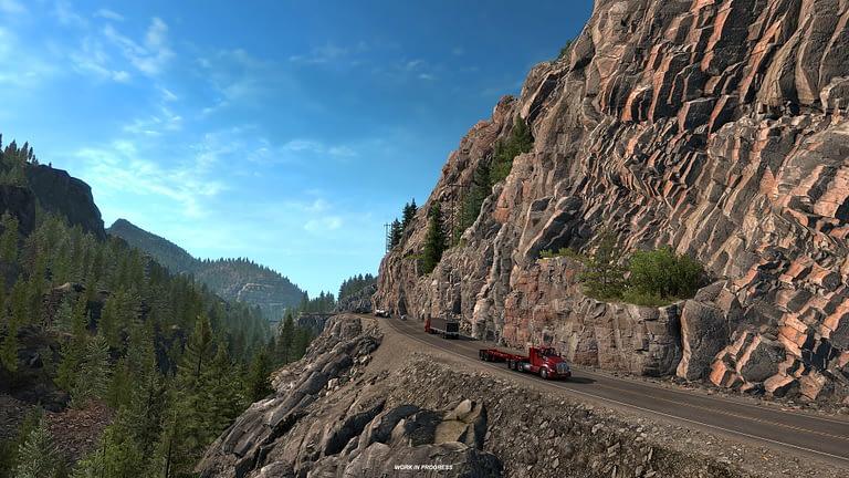 million dollar highway american truck simulator 1