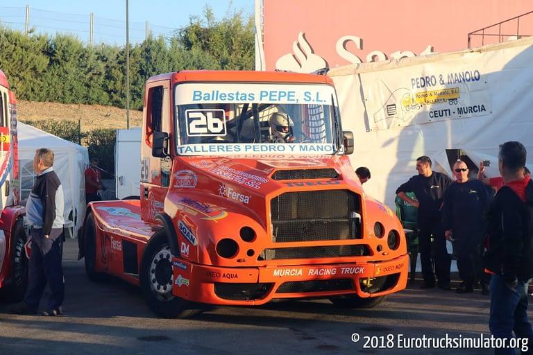 fia etrc jarama 2018 pedro garcia murcia racing team iveco powerstar