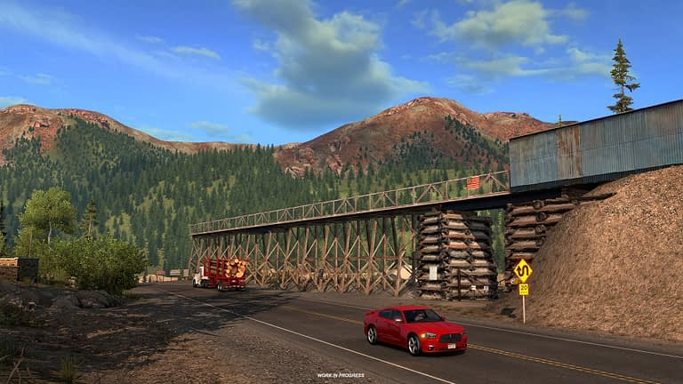 million dollar highway american truck simulator 8
