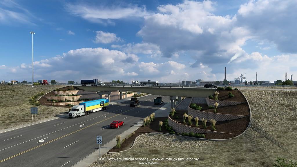 american truck simulator wyoming dlc 3