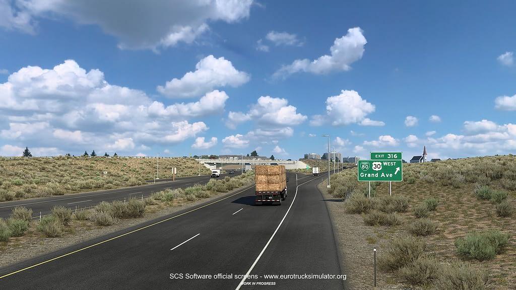 american truck simulator wyoming dlc 7