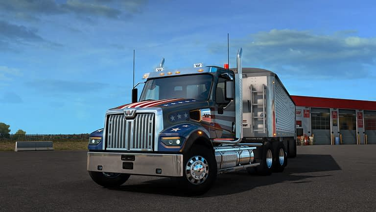 western star 49x american truck simulator 8