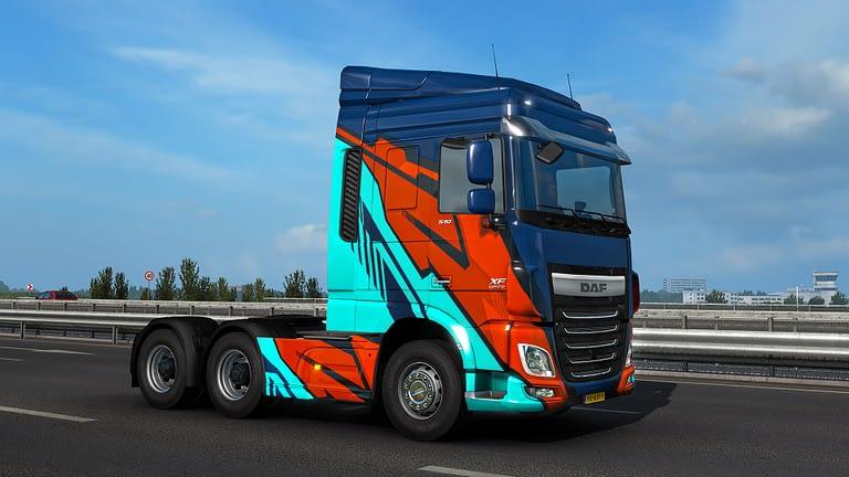 ets2 super stripes paint jobs pack 12