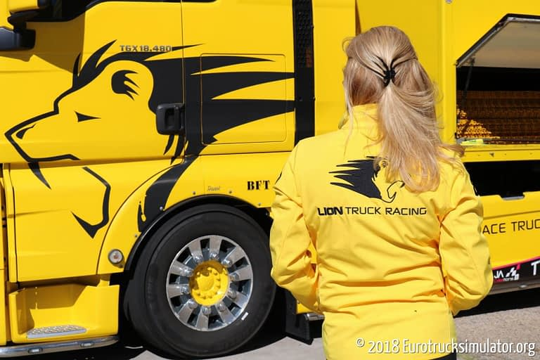 fia etrc jarama 2018 lion truck racing