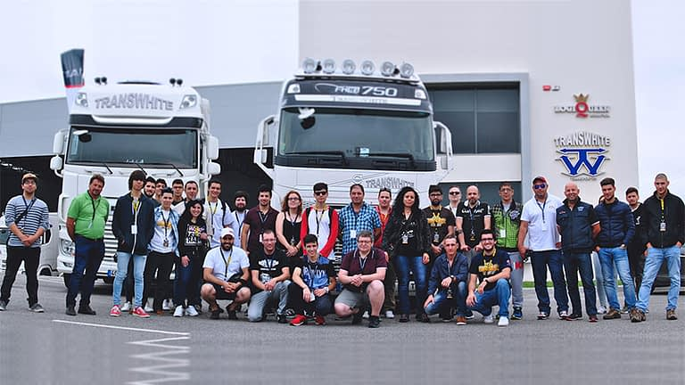 ets2 ats scs fans portugal meeting transwhite
