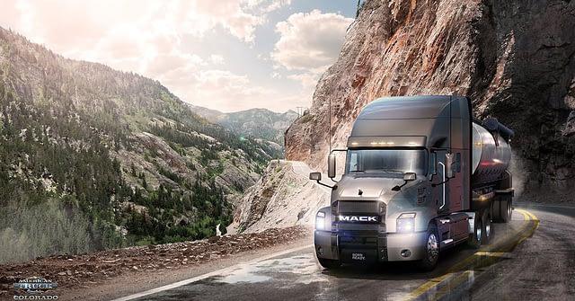 american truck simulator colorado million dollar highwway