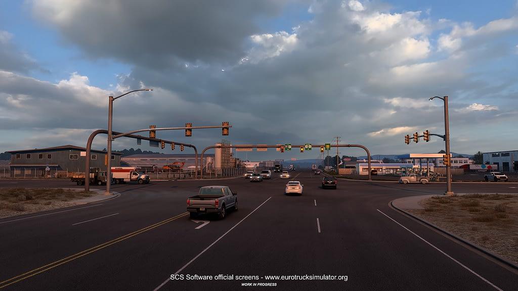 american truck simulator wyoming dlc 13