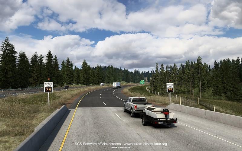 American Truck Simulator – Wyoming Roads