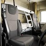 DAF XF Euro 5 interior