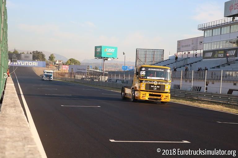 fia etrc jarama 2018 races josy vila alvi truck sport man f2000