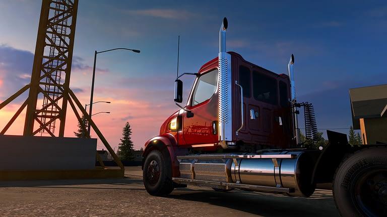 western star 49x american truck simulator 12