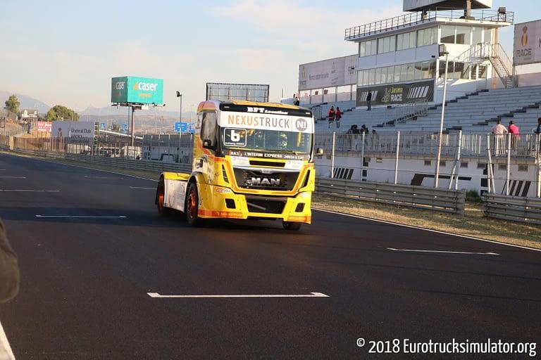 fia etrc jarama 2018 races anthony janiec lion truck racing man