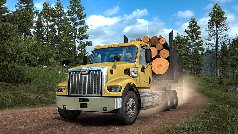 western star 49x american truck simulator 16