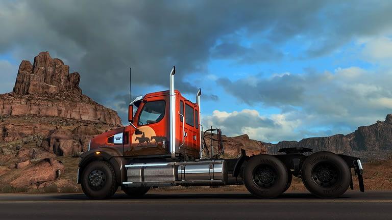 western star 49x american truck simulator 13