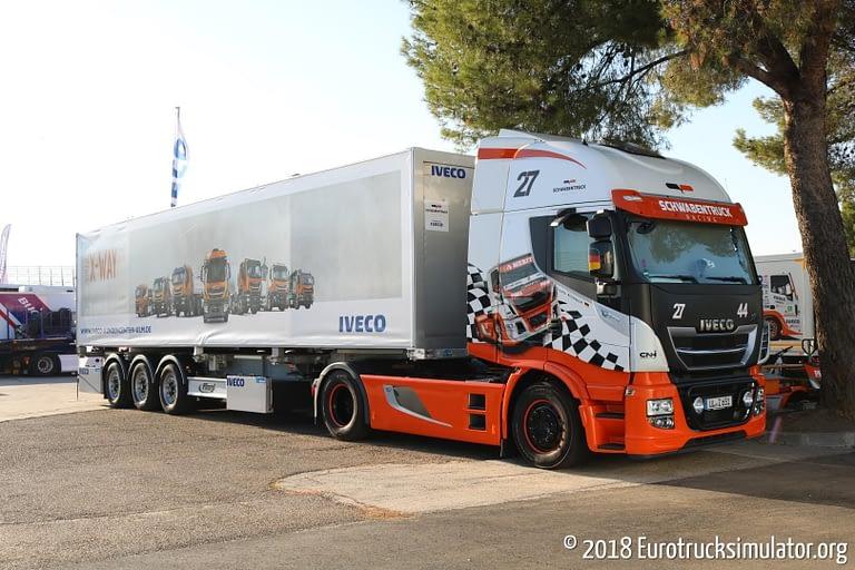 fia etrc jarama 2018 schwabentruck racing iveco stralis