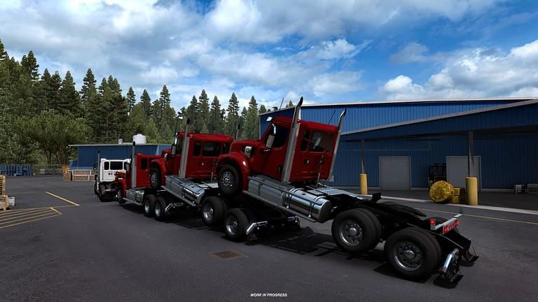 western star 49x american truck simulator 5
