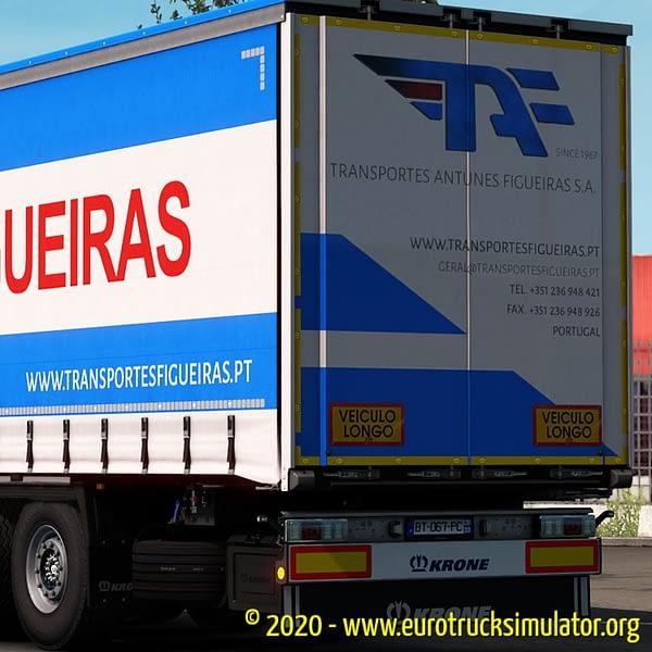 ETS2 Krone Profiliner Antunes Figueiras 2